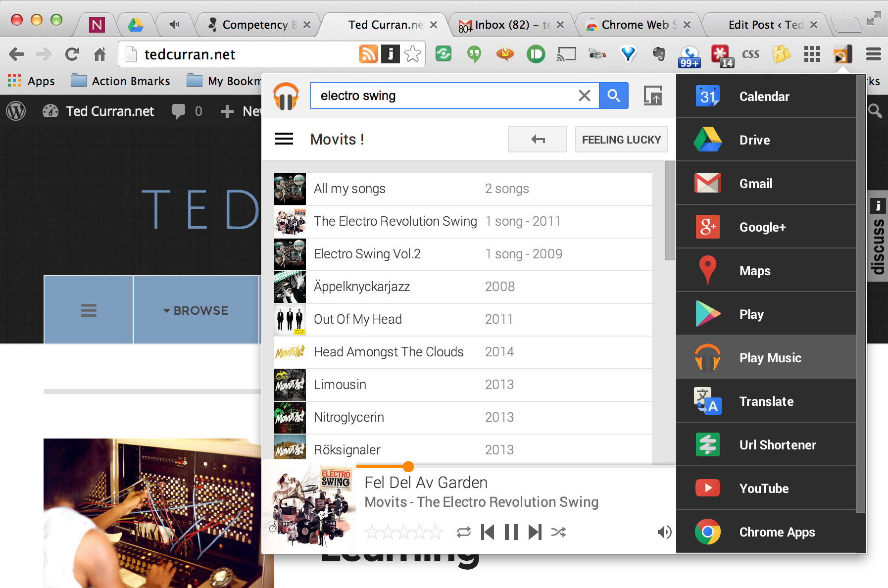 Black Menu for Chrome: All Your Google Tools At Your Fingertips