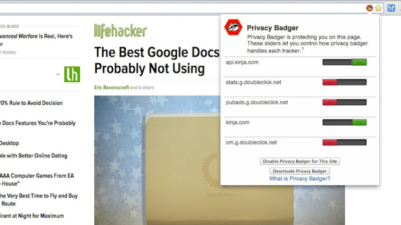 Privacy Badger and Ghostery – Block Web Spying from Your Browser