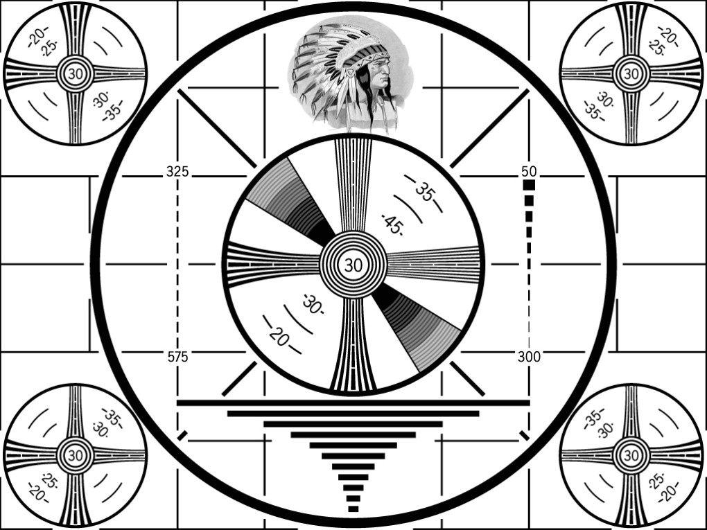 RCA Indian Head TV Test Pattern