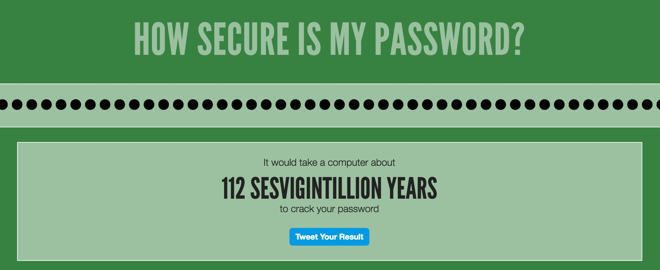 Use a URL as a Strong Password? #CrazyTalk