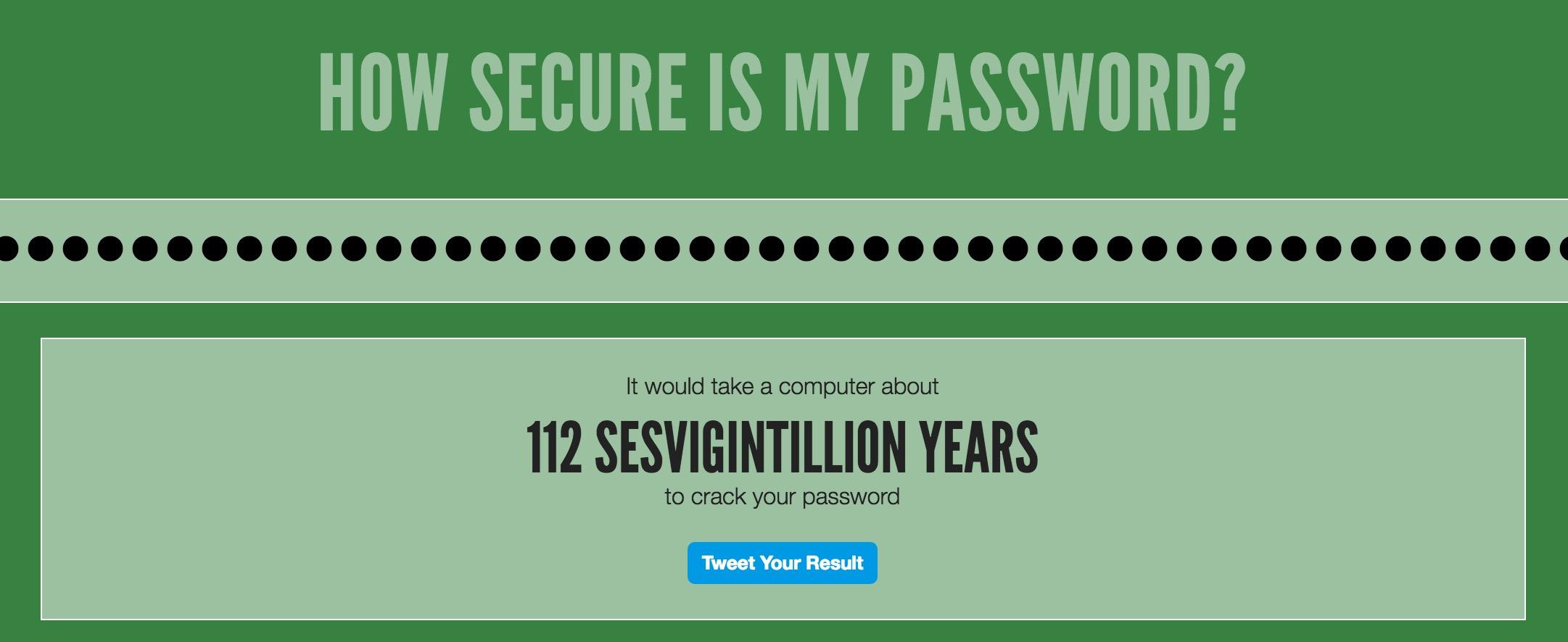 Use a URL as a Strong Password? #CrazyTalk