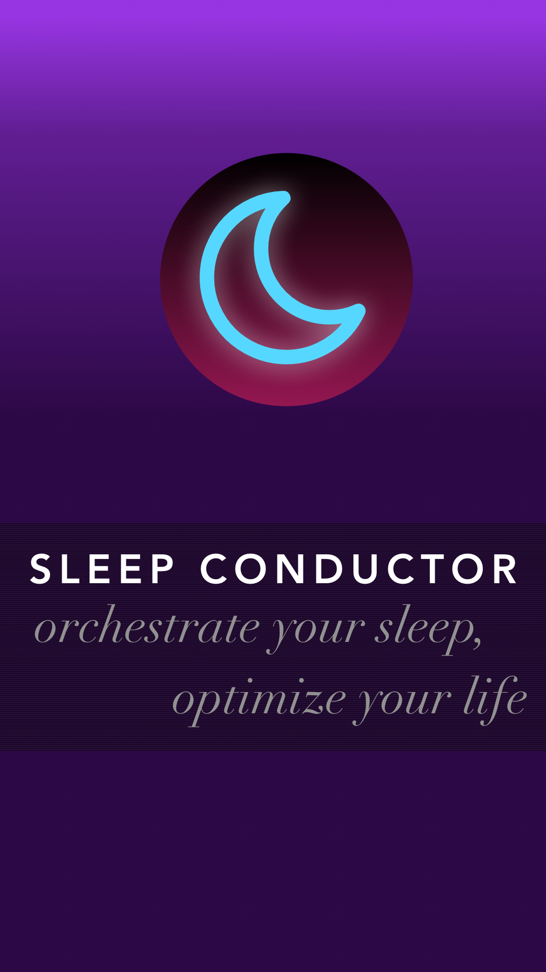 Sleep Conductor | App Prototype for IDEO CoLAB Makeathon 2016